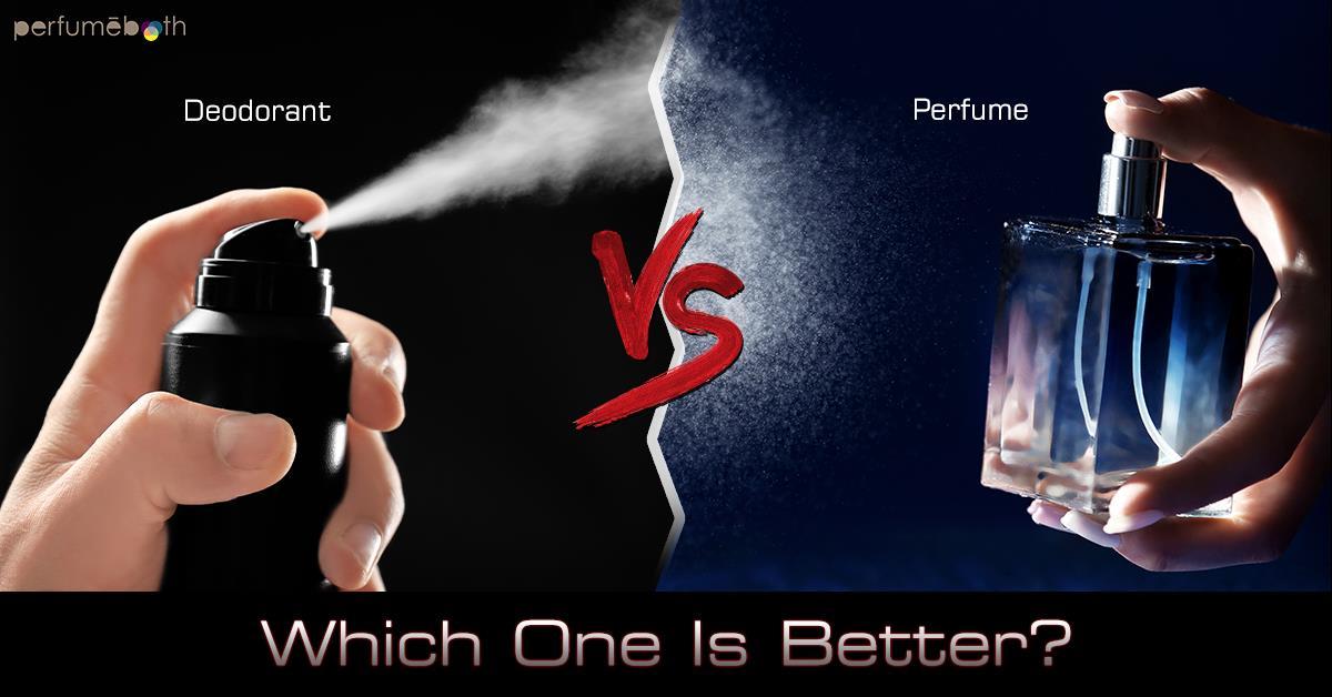 Deodorant vs Perfume