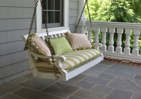 Some Creative Ideas to Decorate Your Porch Swigs for Enchanting Visitors